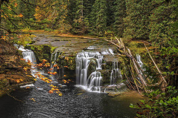 Photograph - Lower Lewis Falls by Wes and Dotty Weber
