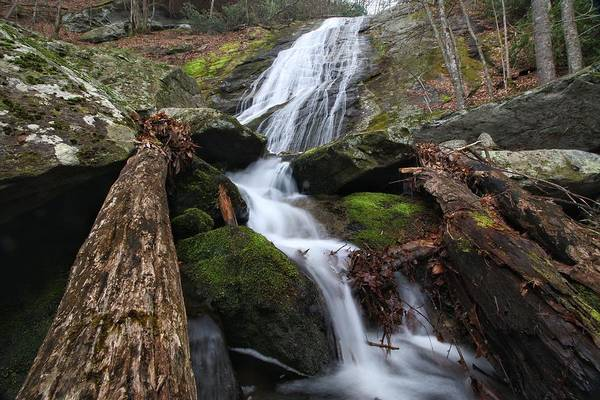 Photograph - Lower Little Lost Cove Falls by Chris Berrier