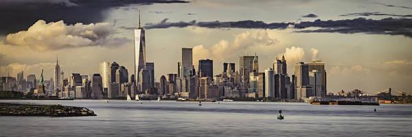 Wall Art - Photograph - Lower Manhattan Panorama by Eduard Moldoveanu