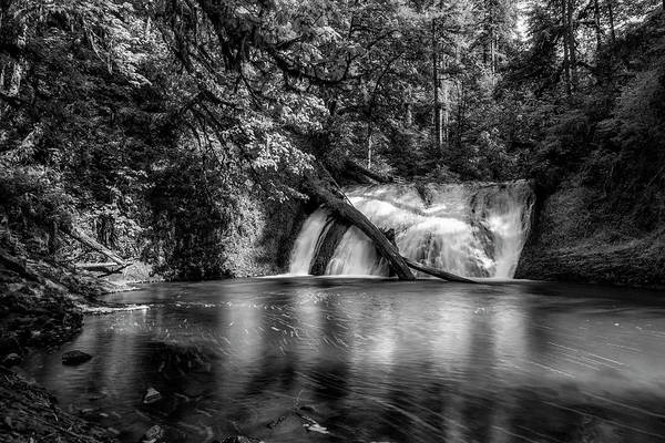 Photograph - Lower North Falls Bw by Belinda Greb