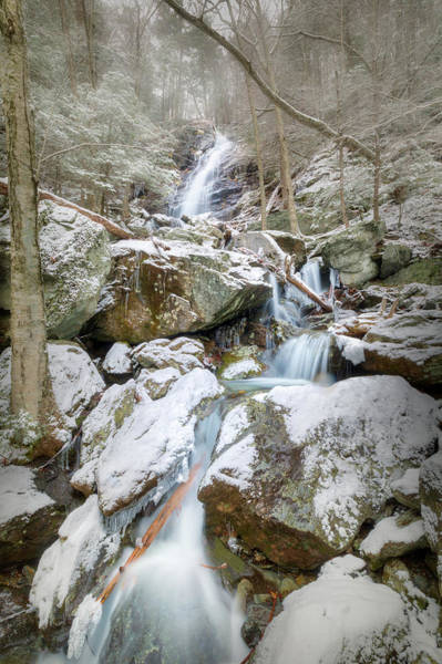 Photograph - Lower Race Brook Falls 2018 by Bill Wakeley