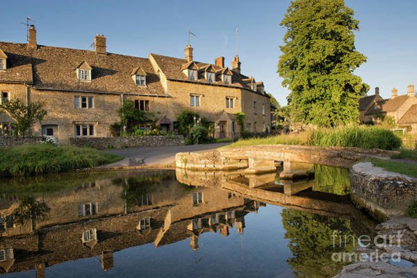 English Countryside Photograph - Lower Slaughter Cotswolds by Tim Gainey
