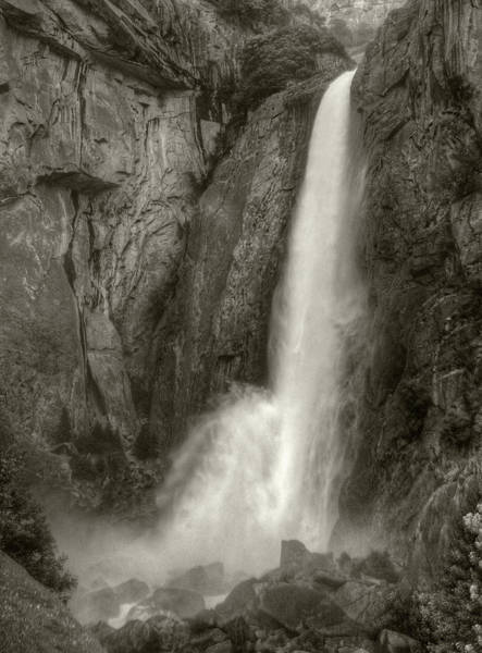 Photograph - Lower Yosemite Falls by Michael Kirk