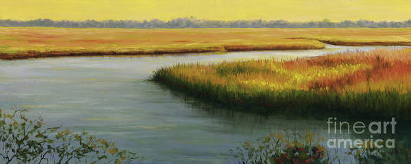 Hilton Head Island Painting - Lowcountry Sunset by Amy Welborn