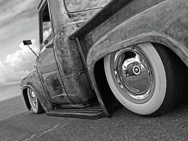 Photograph - Lowrider In Black And White by Gill Billington