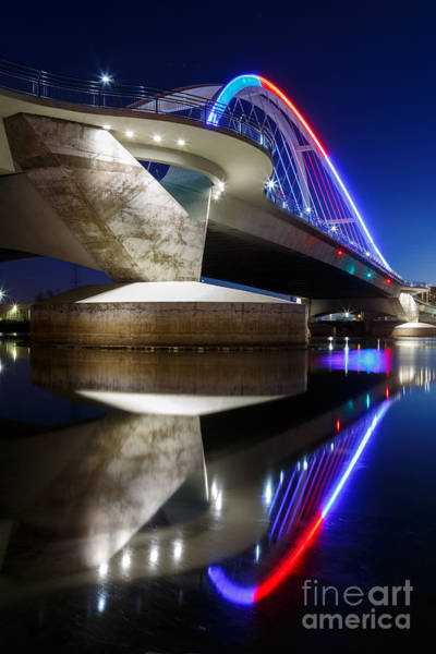 Lowry Photograph - Lowry Ave Bridge For Twins Opener by Ernesto Ruiz