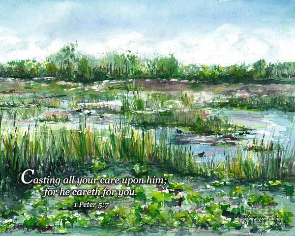 Digital Art - Loxahatchee Marsh 1 Peter 5 by Janis Lee Colon