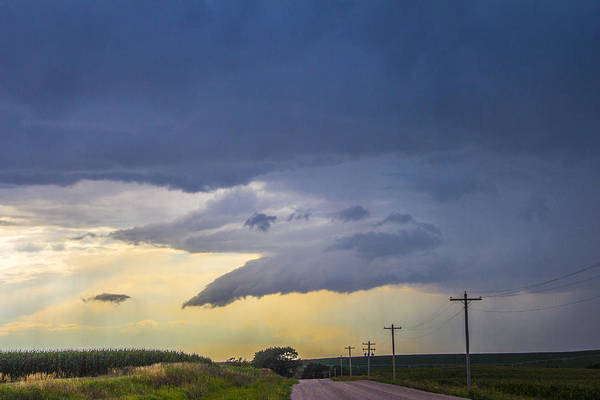 Photograph - Lp Nebraska Storm Cells 005 by NebraskaSC