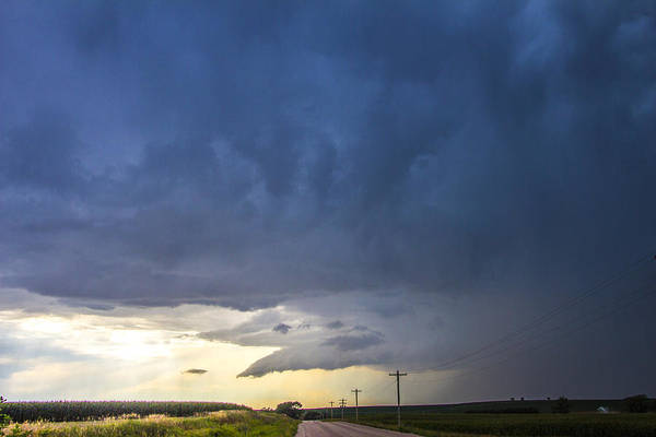Photograph - Lp Nebraska Storm Cells 006 by NebraskaSC