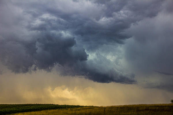 Photograph - Lp Nebraska Storm Cells 007 by NebraskaSC
