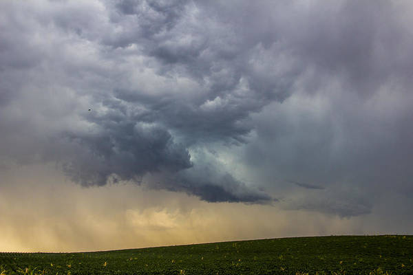 Photograph - Lp Nebraska Storm Cells 008 by NebraskaSC