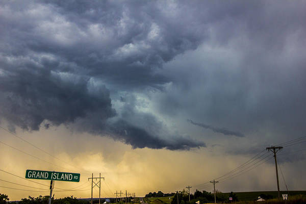 Photograph - Lp Nebraska Storm Cells 010 by NebraskaSC