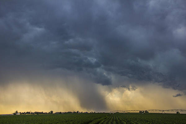 Photograph - Lp Nebraska Storm Cells 011 by NebraskaSC