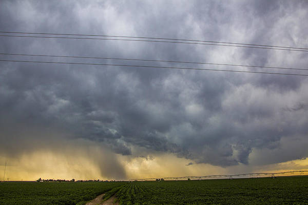 Photograph - Lp Nebraska Storm Cells 012 by NebraskaSC