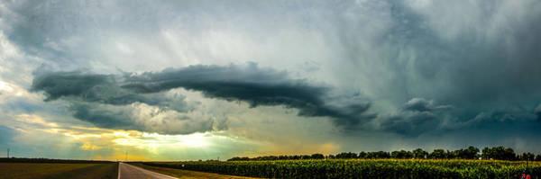 Photograph - Lp Nebraska Storm Cells 014 by NebraskaSC