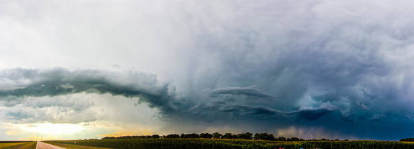 Photograph - Lp Nebraska Storm Cells 017 by NebraskaSC