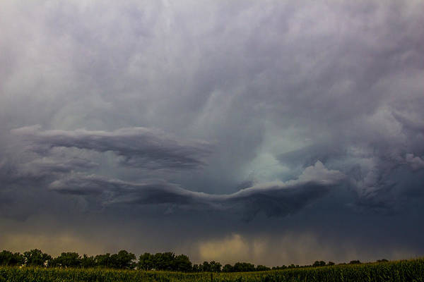 Photograph - Lp Nebraska Storm Cells 018 by NebraskaSC