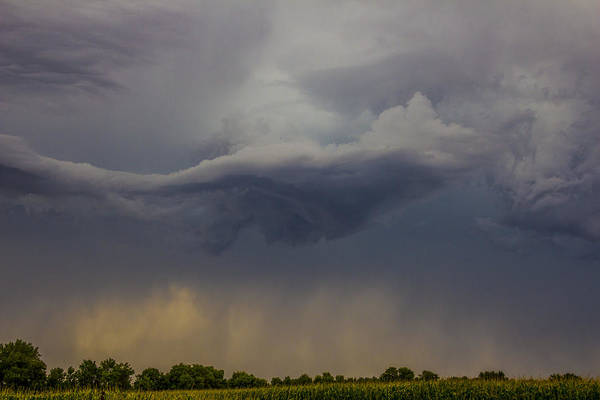 Photograph - Lp Nebraska Storm Cells 021 by NebraskaSC