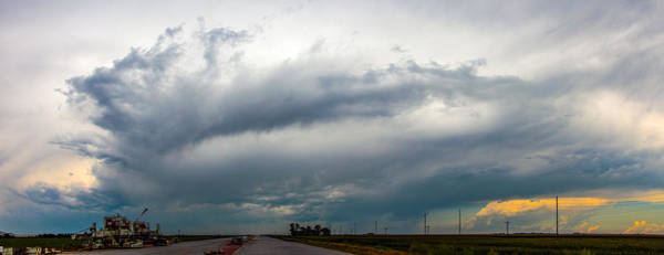 Photograph - Lp Nebraska Storm Cells by NebraskaSC
