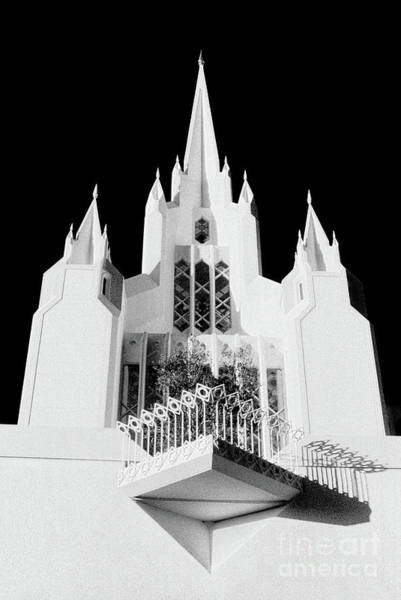Photograph - Lds Temple - Ca by Paul W Faust - Impressions of Light