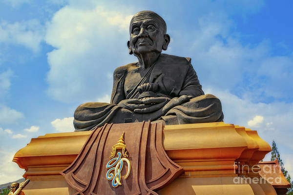 Wall Art - Photograph - Luang Phor Thuad Monk by Adrian Evans