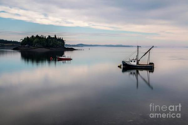 Photograph - Lubec Reflections by Karin Pinkham