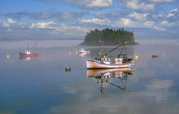 Photograph - Lubec Waterfront by Marty Saccone