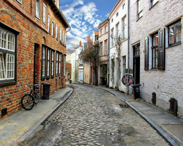 Photograph - Lubeck Street View by Anthony Dezenzio