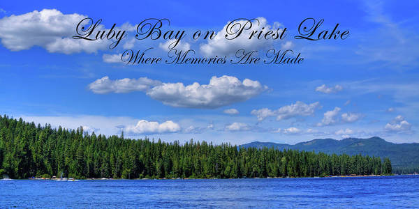 Photograph - Luby Bay On Priest Lake by David Patterson