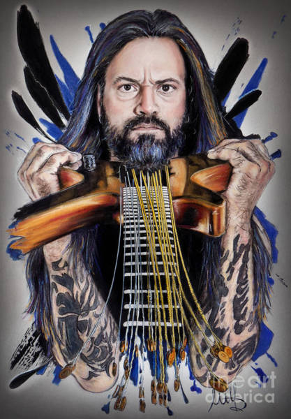 Wall Art - Pastel - Luc Lemay /gorguts/ by Melanie D