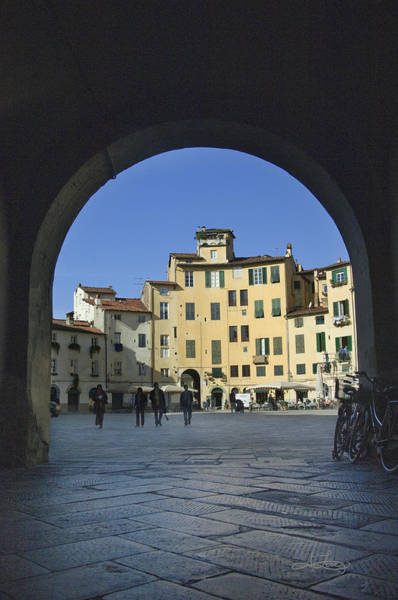 Photograph - Lucca Piazza by Jill Love