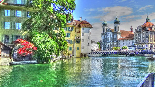 Photograph - Lucerne by LR Photography
