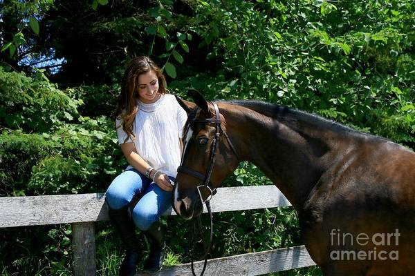 Photograph - Lucia-cora10 by Life With Horses
