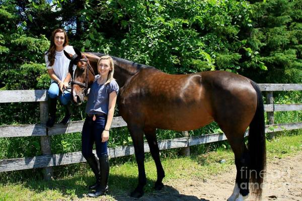 Photograph - Lucia-cora12 by Life With Horses