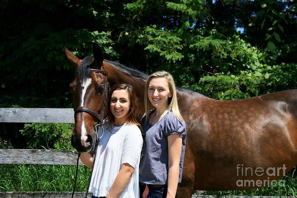 Photograph - Lucia-cora16 by Life With Horses