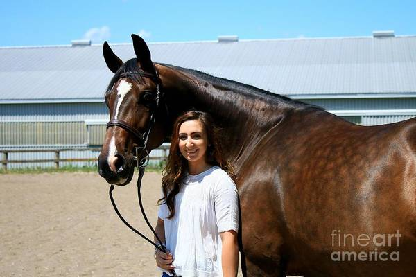 Photograph - Lucia-cora2 by Life With Horses