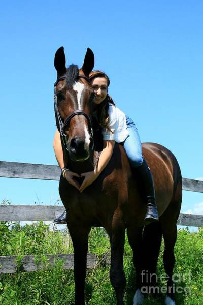 Photograph - Lucia-cora31 by Life With Horses