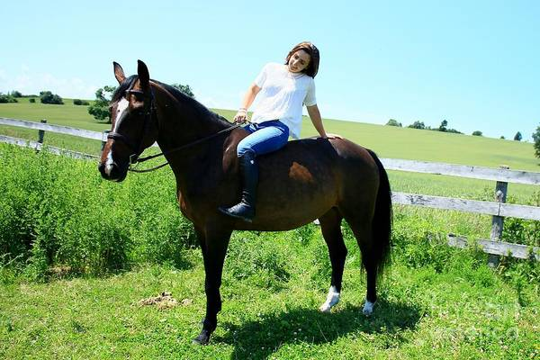 Photograph - Lucia-cora33 by Life With Horses