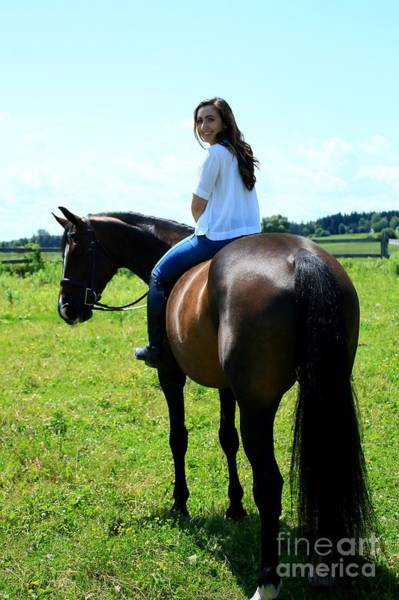 Photograph - Lucia-cora34 by Life With Horses