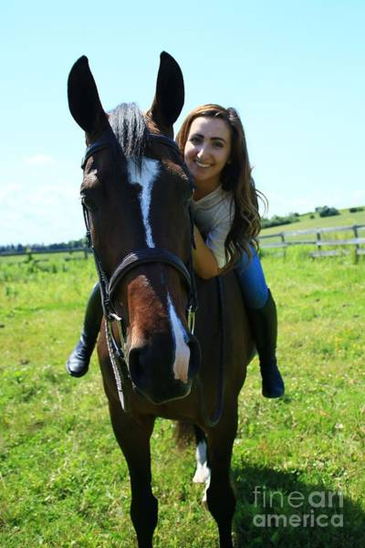 Photograph - Lucia-cora37 by Life With Horses