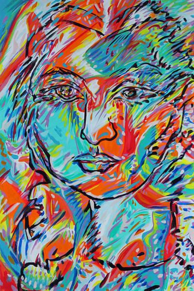 Ranchera Wall Art - Painting - Lucia by Jimmy Longoria
