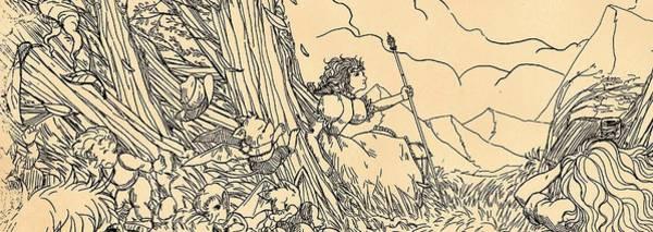 Drawing - Lucinda Panorama by Reynold Jay