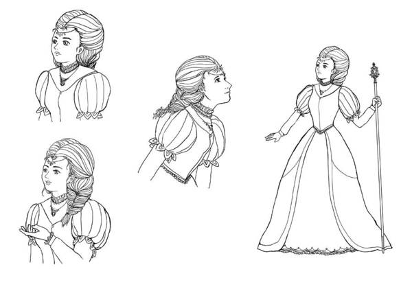 Drawing - Lucinda Sketches by Reynold Jay