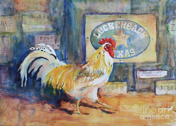 Central Texas Painting - Luckenbach Dancer by Marsha Reeves