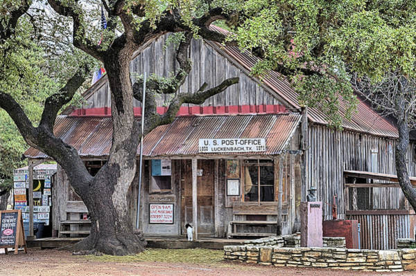 Wall Art - Photograph - Luckenbach Texas by JC Findley