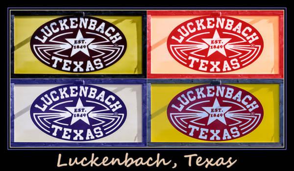 Fredericksburg Wall Art - Photograph - Luckenbach Texas Poster by Joan Carroll