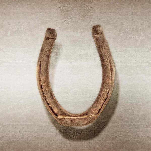 Blacksmith Photograph - Lucky Horseshoe by YoPedro