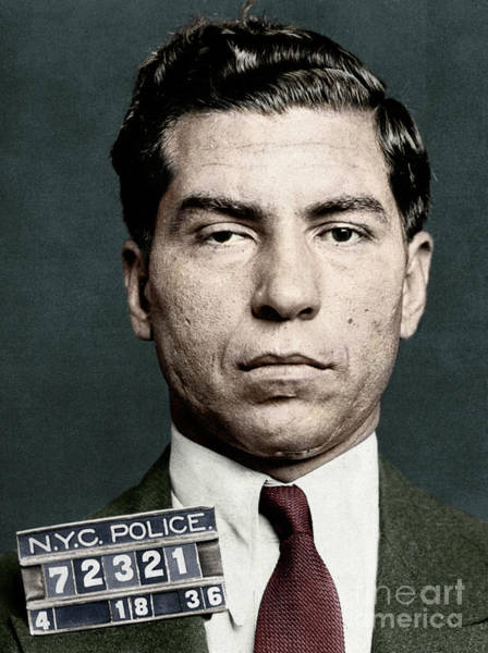 Photograph - Lucky Luciano by Granger