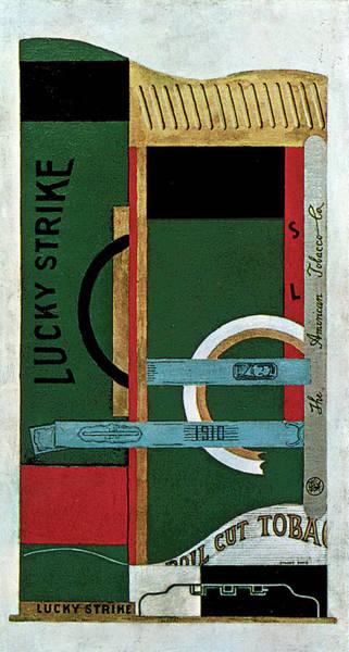Painting - Lucky Strike by Stuart Davis
