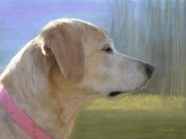 Painting - Lucy by Diane Chandler